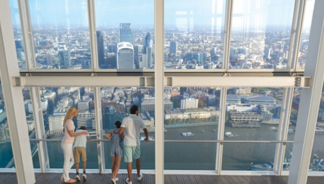 Kids go free at the Shard this October Half Term