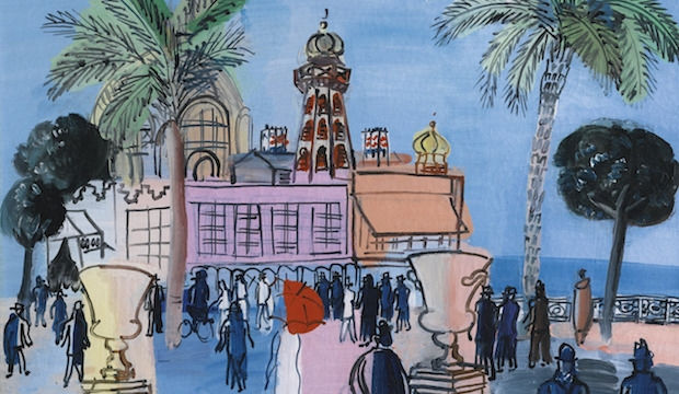 20th century painter, Raoul Dufy on show at the Connaught Brown with his unique take on modernism