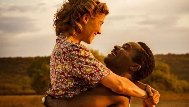 David Oyelowo and Rosamund Pike, A United Kingdom