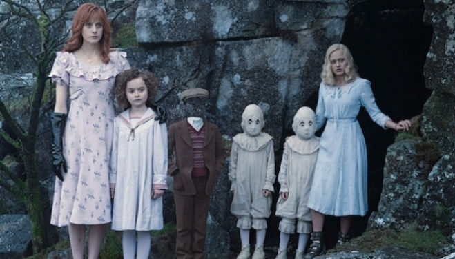 Tim Burton film Miss Peregrine's Home for Peculiar Children