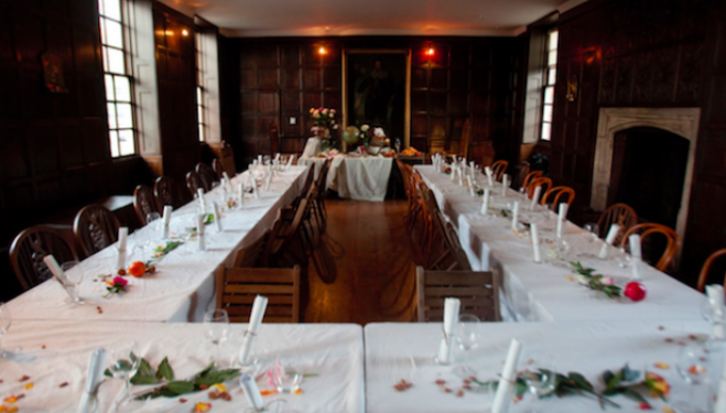 The Art of Dining at Sutton House, Christmas Dinner 2016