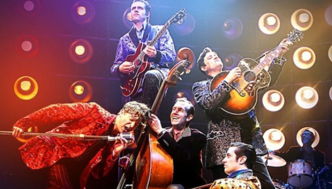Christmas rock 'n' roll at the Southbank Centre with Million Dollar Quartet