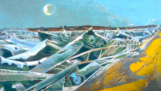 'His visionary works redefined our idea of landscape painting' We review Paul Nash, Tate Britain