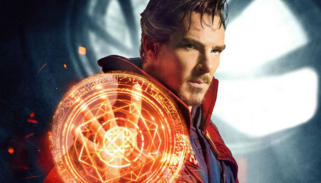 New Marvel film Doctor Strange - Benedict Cumberbatch