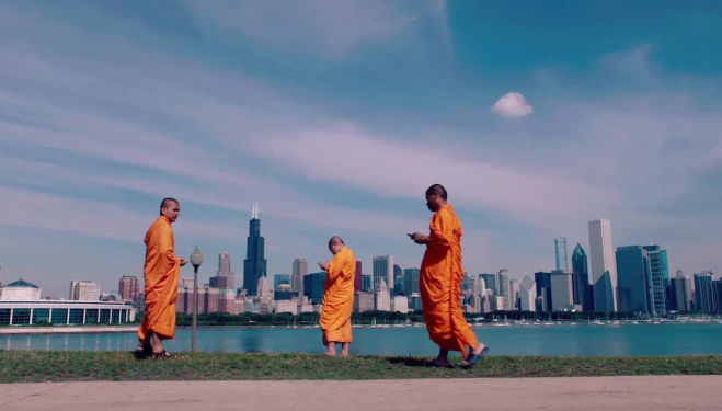 Tweeting monks in new documentary, 2016's Lo and Behold