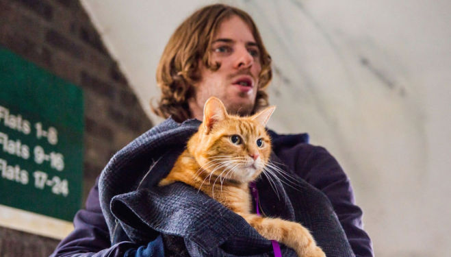Luke Treadaway - A Street Cat Named Bob film