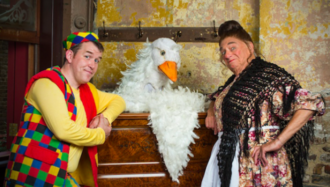 Mother Goose Christmas Pantomime, Wilton's Music Hall