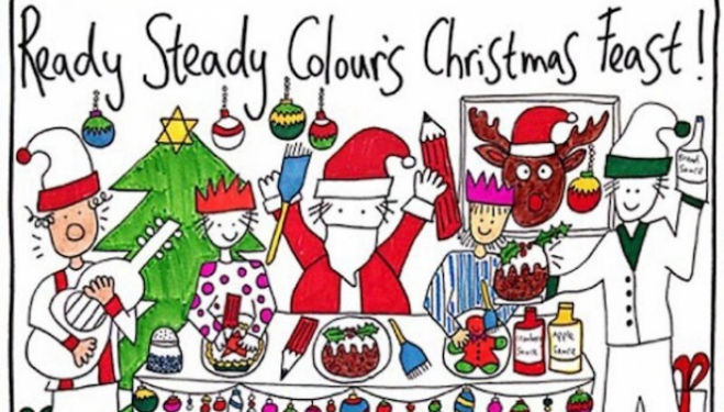 Ready Steady Colour's Kids Christmas Feast, The Discover Centre