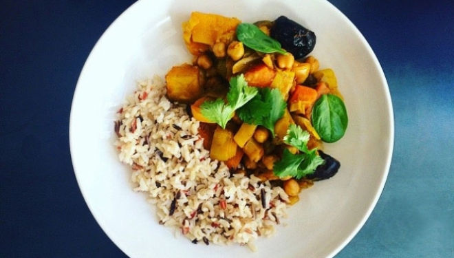 Healthy Recipe, Moroccan Vegetable Tagine