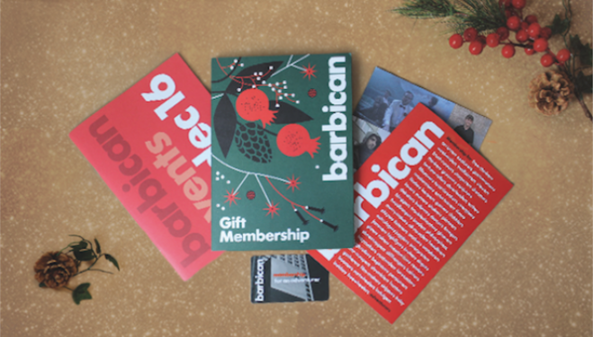 Barbican Gift Membership: Christmas presents 2016