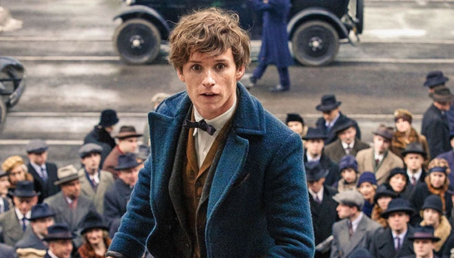 Eddie Redmayne, Fantastic Beasts and Where to Find Them film