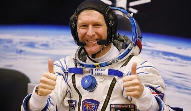 Meet ESA astronaut Tim Peake at Waterstones, Piccadilly