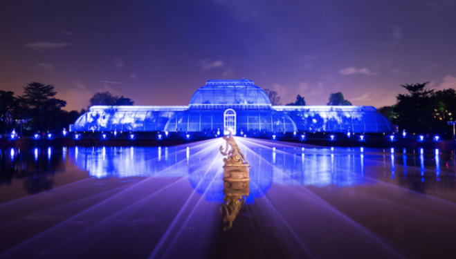 Booking opens: Christmas at Kew Gardens