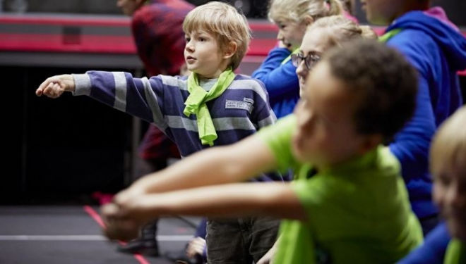 Capulet Combat vs Montague Moves, stage fighting for kids February Half Term