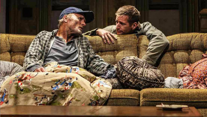 Ed Harris, Buried Child London. Photo by Johan Persson