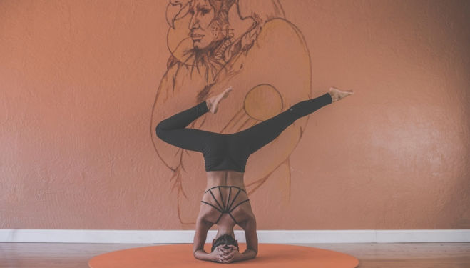 Yoga and art - just a normal day at Culture Whisper