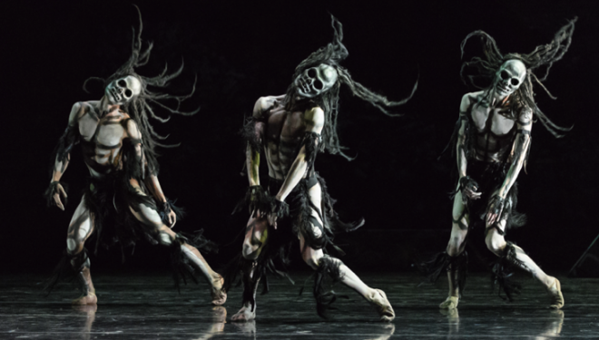 Rambert Ghost Dances photo Jane Hobson