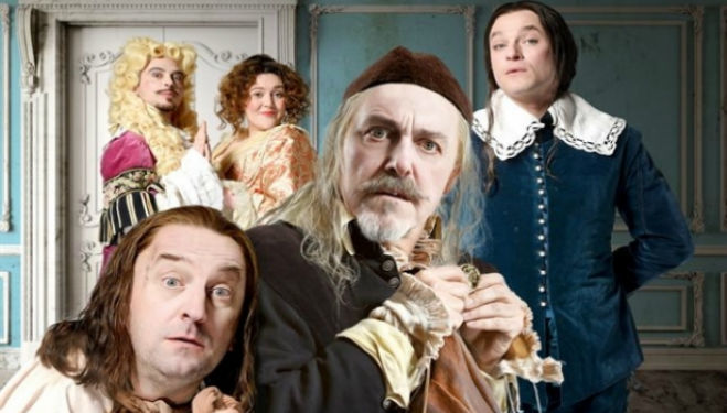Lee Mack, Griff Rhys Jones, Mathew Horne, Katy Wix and Ryan Gage will all star in The Miser