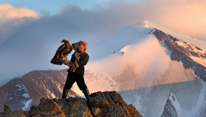 The film that isn't Star Wars... beautiful documentary The Eagle Huntress