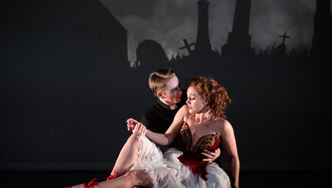 Matthew Bourne's hit show The Red Shoes Returns