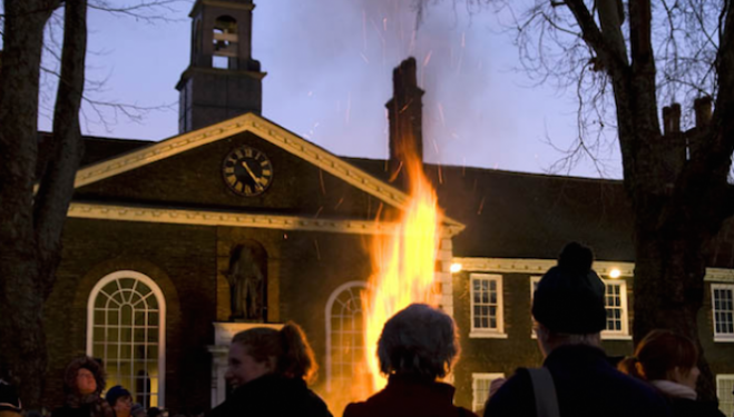 Farewell to Christmas, Geffrye Museum
