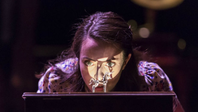 Kate O'Flynn in The Glass Menagerie. Photo by Johan Persson