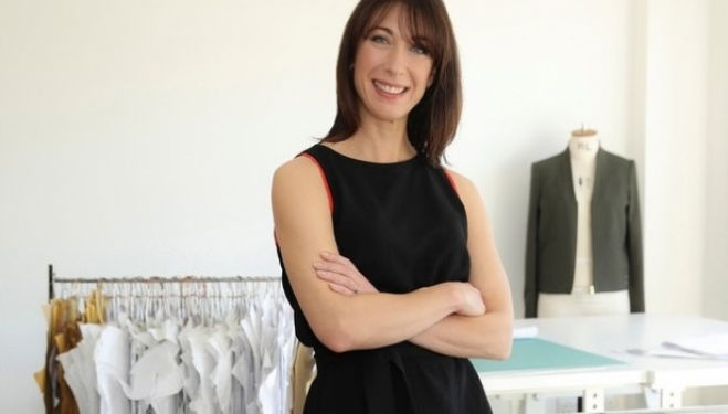Cefinn: Samantha Cameron dresses up in her new fashion brand