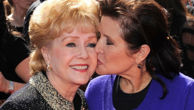 Carrie Fisher and Debbie Reynolds. Bright Lights documentary.