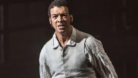 Roderick Williams plays Billy Budd in Britten's opera of the same name. Photograph: Clive Barda