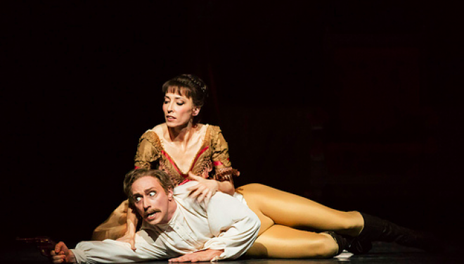 Edward Watson, Mara Galeazzi photo Bill Cooper c/o ROH