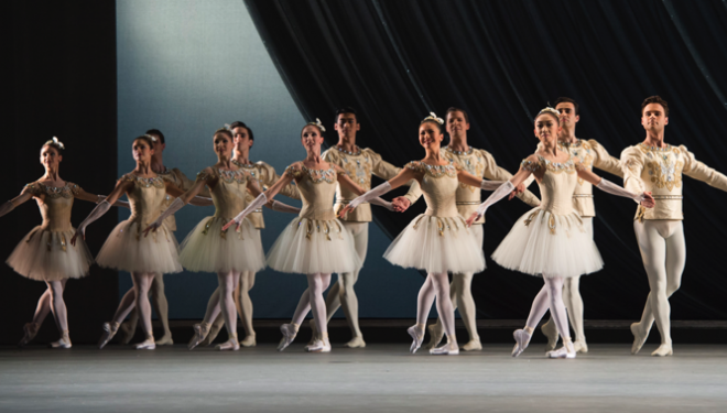 Diamonds Royal Ballet artists photo Bill Cooper c/o ROH