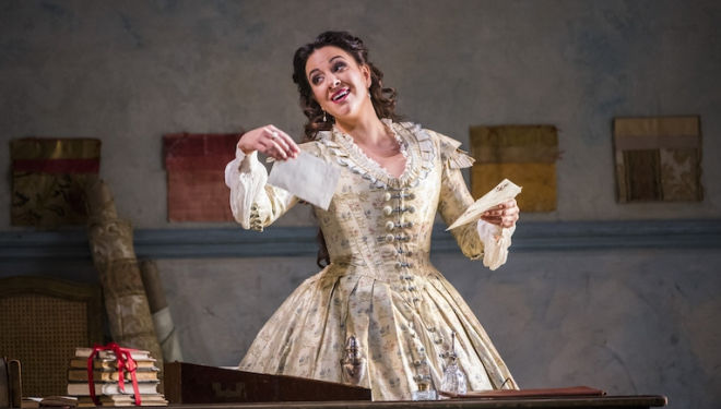 Joyce El-Khoury is captivating in the Royal Opera House's La Traviata. Photograph: Tristram Kenton