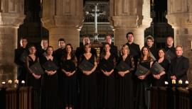 The choir Tenebrae are at the heart of the first Holy Week Festival. Photograph: Chris O'Donovan