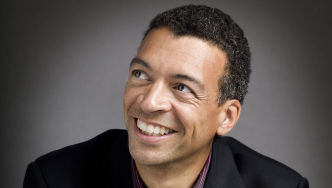 Baritone Roderick Williams is among the outstanding soloists in the Bach Choir's St Matthew Passion