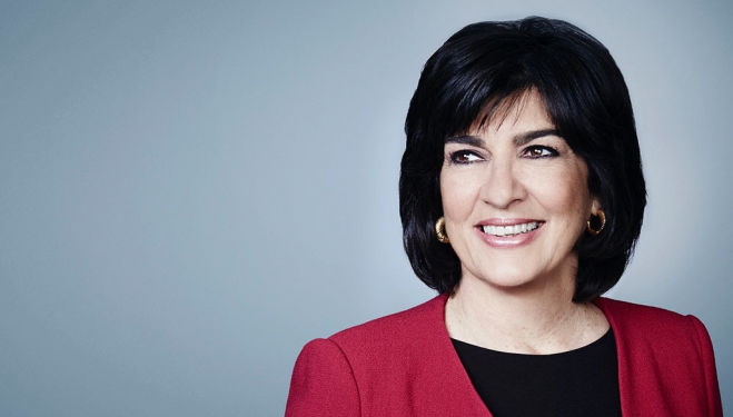 Christiane Amanpour will be speaking at 5x15. Image via CNN.