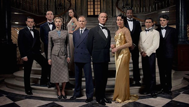 The Halcyon, ITV review