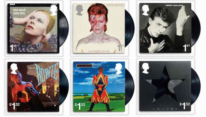 david bowie souvenier stamps royal mail how to get