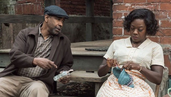 Oscar nominated Viola Davis and Denzel Washington – Fences film 2017