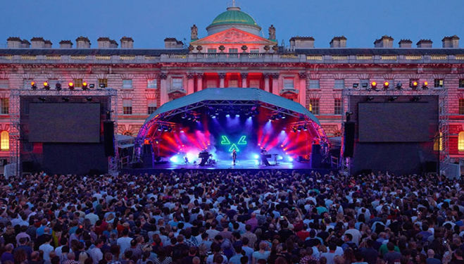 Book now for sunset gigs at Somerset House