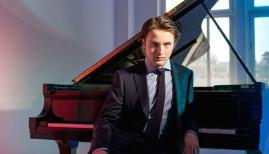 Daniil Trifonov is the dynamic soloist in Tchaikovsky's daring Piano Concerto No 1. Photograph: Dario Acosta