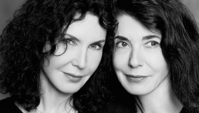 13 April: Labèque sisters are piano soloists in a new concerto