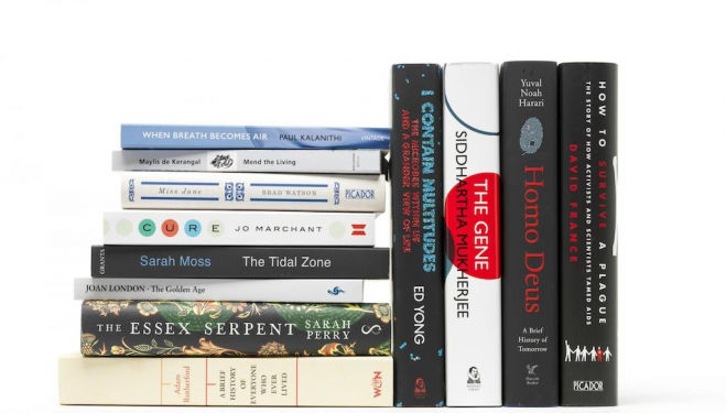 2017 Wellcome Book Prize shortlist