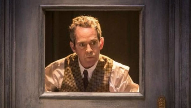 Tom Hollander: Travesties play, photo by Johan Persson