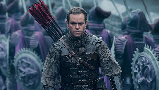 Matt Damon - The Great Wall film 2017