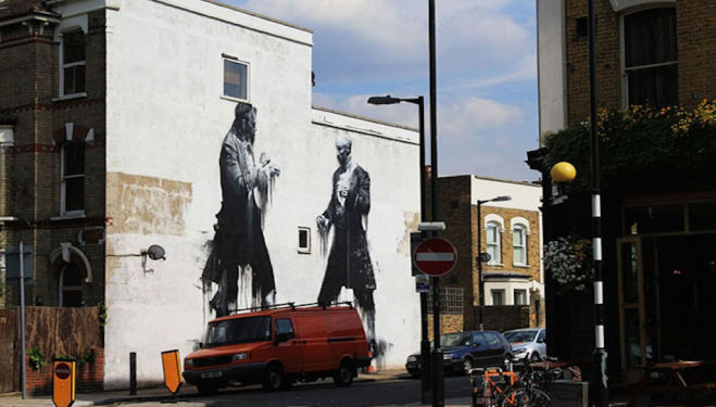 Street art, East Dulwich