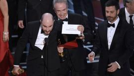 Moonlight, La La Land? Oscars results 2017, Warren Beatty, Jimmy Kimmel