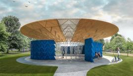 Francis Kéré' 2017 Serpentine pavilion design Photograph: Serpentine gallery
