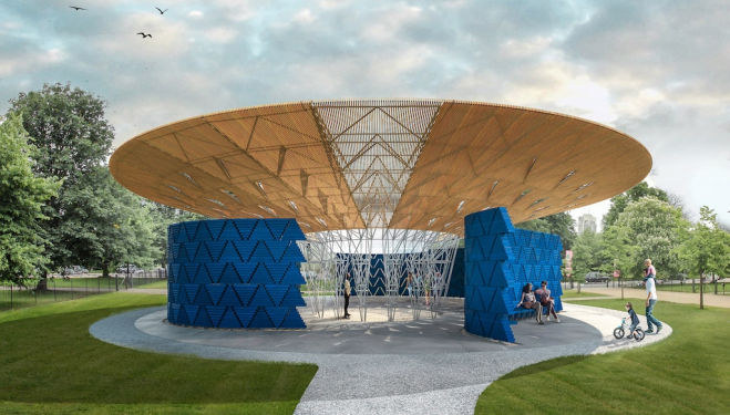 2017 Serpentine Pavilion: Francis Kéré's design revealed
