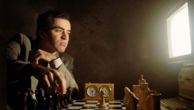 World Chess Champion Garry Kasparov in conversation