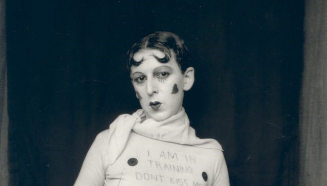 'Don't Kiss Me' Claude Cahun, 1927 Courtesy of Jersey Heritage Collections